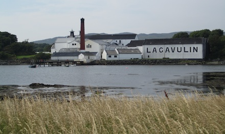 Lagavulin as seen from across bay